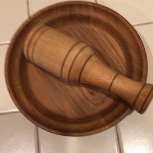 Very special set wood clean handmade